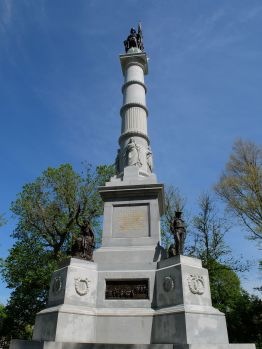 "Martin Milmore, ""Soldiers' and Sailors' Monument, 1877."