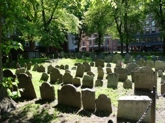 Granary Burial Ground, un cimetière datant de 1660.