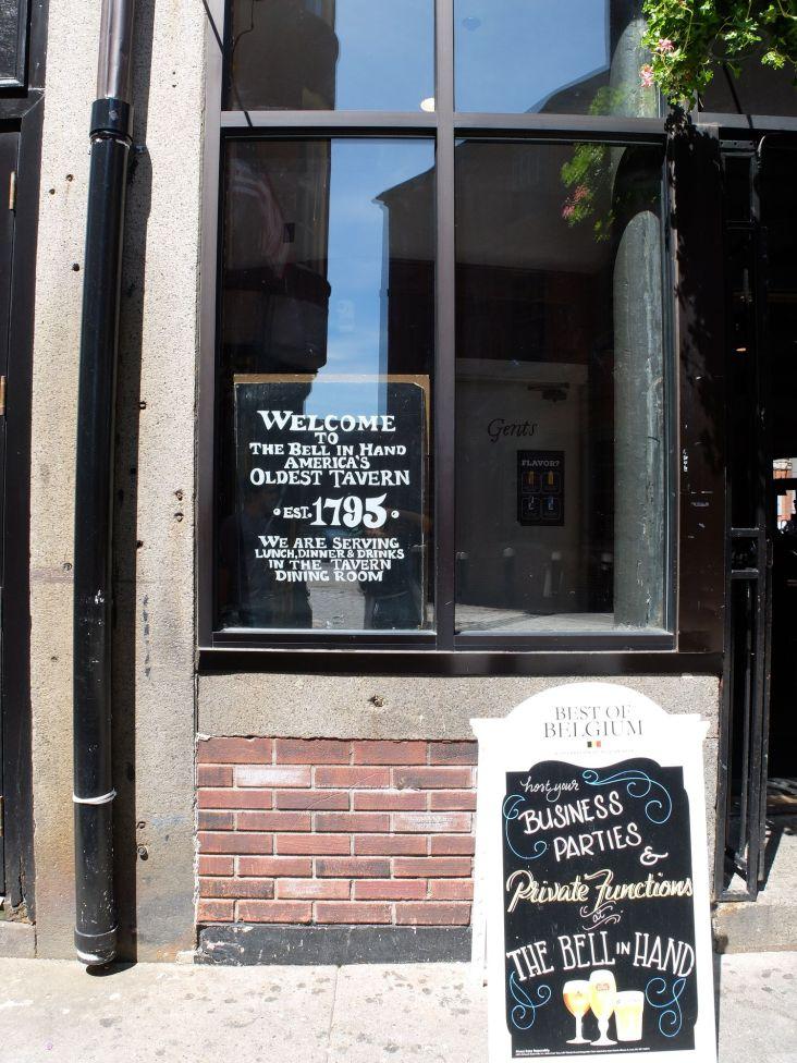 Le plus vieux pub de Boston.
