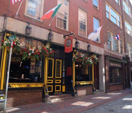 Un petit air d'Irlande à Boston.