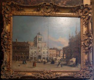 """Francesco Guardi, """"The Torre dell'Orologio"""", fin du XVIIIe siècle : je ne me lasse pas des représentations de Venise..."""