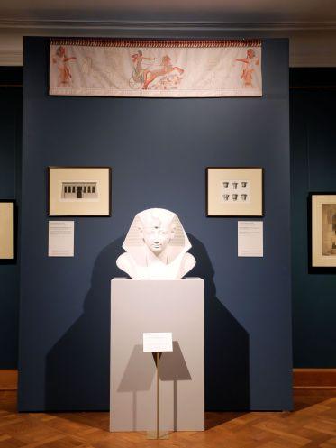 Un petit tour dans l'exposition temporaire, sous le signe de l'orientalisme.