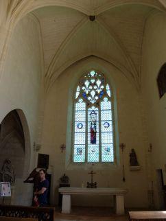 La Chapelle Sainte-Anne, restaurée après la Révolution française.