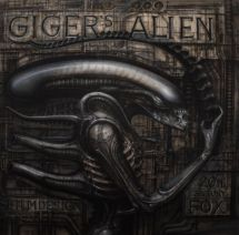 """Alienmonster/ Giger's Alien"", 1975."