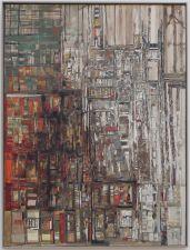 """Maria-Helena Viera da Silva, """"La Bibliothèque"""", 1966. On ne voit pas assez de tableaux sur le thème de la bibliothèque."""
