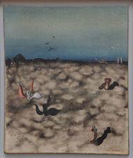 """Yves Tanguy, """"Sans Titre"""", 1927. Il y a parfois des univers fictifs dans lesquels vous avez envie de promener et j'avais vraiment envie de plonger dans celui-ci."""