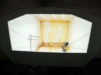 """""""Super Collider"""", une oeuvre qui a réveillé en moi un instinct de survie basique : la fuite."""