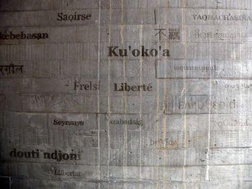 """Comment dit-on """"liberté"""" en langue universelle ?"""