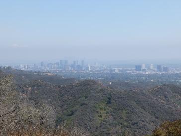 Vue sur le centre-ville de Los Angeles