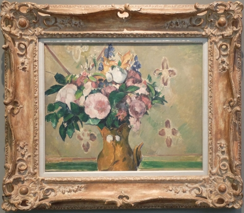 "Paul Cézanne, ""Vase of Flowers"", 1881."