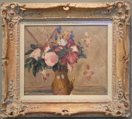 """Odilon Redon, """"Vase of Flowers (After Cézanne)"""", 1896."""