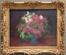 "Pierre-Auguste Renoir, ""Bouquet of Lilas"", 1875."