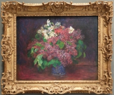 "Pierre-Auguste Renoir, ""Bouquet of Lilas"", 1875."