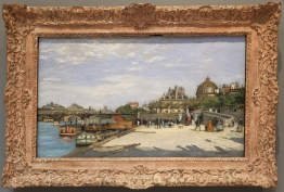 """Pierre-Auguste Renoir, """"The Pont des Arts, Paris"""", 1867-68."""