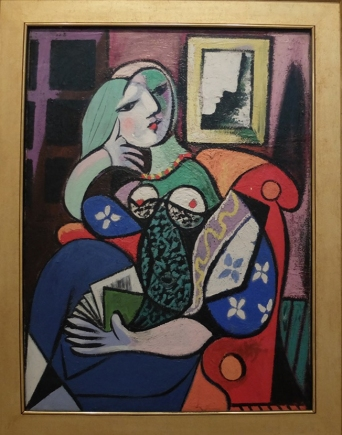 "Pablo Picasso, ""Woman with a Book"", 1912."