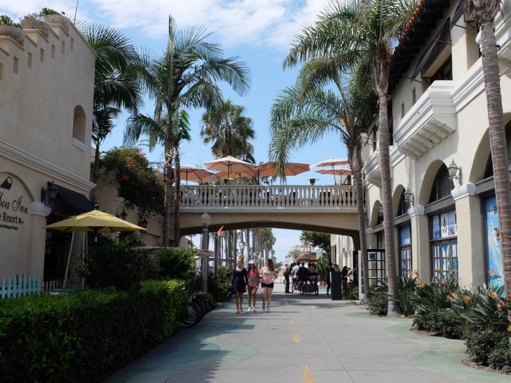 Dans les ruelles de Newport Beach