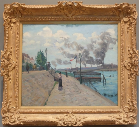 "Jean-Baptiste Armand Guillaumin, ""The Seine at Charenton"", 1874."