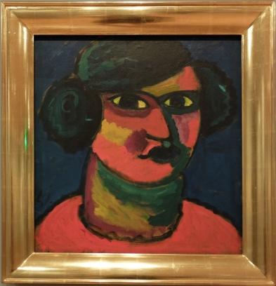 """Alexei Jawlensky, """"Fiery Head"""", 1912."""