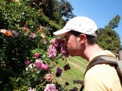Soupirer dans des fleurs...