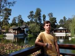 Prendre la pose dans le jardin chinois (bis)