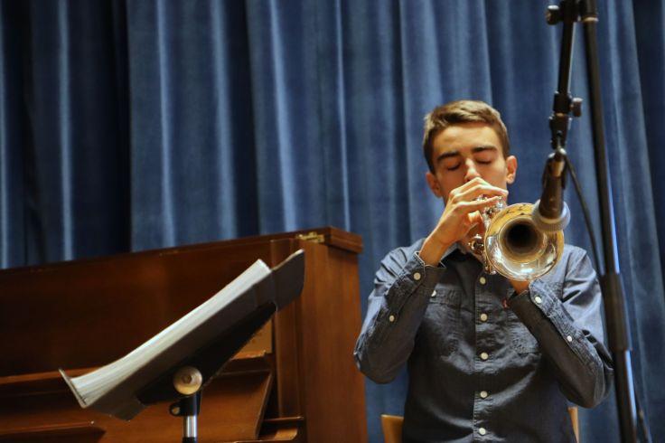 14musician Caleb, trumpet