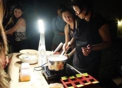 Un atelier nocturne
