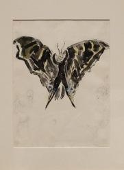 « Costume Design for 'Aleko': Bat (Scene IV) », 1942 : une chauve-souris ou un papillon ?