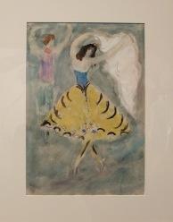 « Costume Design for 'Aleko': Zemphira (Scene IV) », 1942 : une dame ou un papillon ?