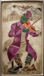 """Green Violinist"", 1923-1924."