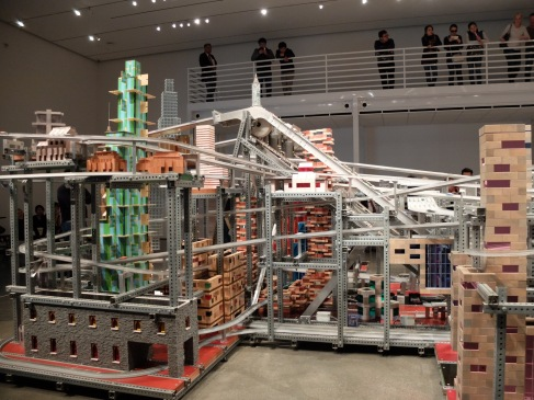 Chris Burden, Metropolis II, 2011. (1)