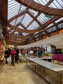 Le marché couvert de Quimper.
