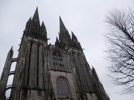 La cathédrale Saint-Corentin-de-Quimper