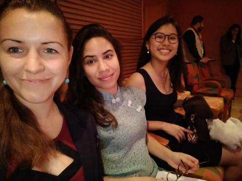 En attendant le début du concert (1)