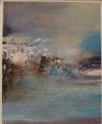 """Zao Wou-Ki, """"17.12.82"""", 1982 : une des oeuvres qui m'a le plus touchée, paysage abstrait et pourtant si parlant..."""
