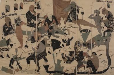 """Nguyen Van Cuong, """"Karaoke Triptych"""", 1997. Une oeuvre qu'on ne peut comprendre que si on a passé une soirée dans une ville au Laos ou dans une fête de famille je crois..."""