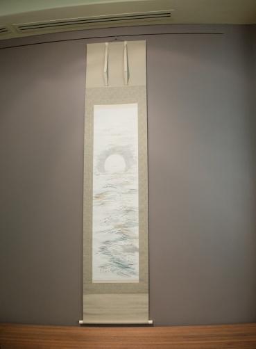 """Tomita Keisen, """"Moon Over the Sea"""", fin XIX-déb. XX. Simple et pourtant extrêmement évocateur."""