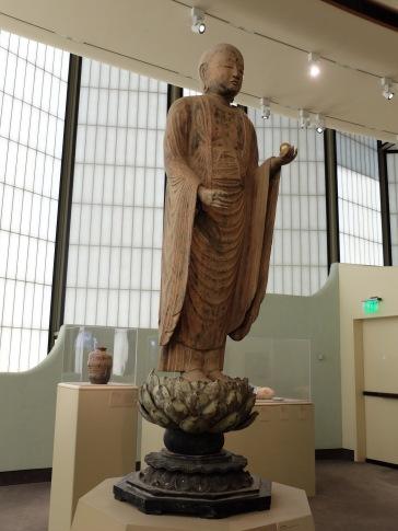 Jisoo Bosatsu, Epoque de Heian (794-1185), réalisée entre 1070 et 1120.