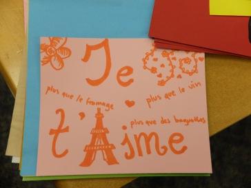 La plus belle déclaration d'amour à la française.