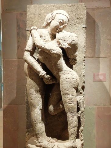 """""""Loving couple (Maithuna), Inde : Orissa, 13e siècle."""