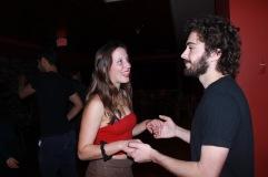 Olivia (merveilleuse danseuse que j'ai rencontrée dans un cours de danse) et Matthew (copain de bateau à voile !)