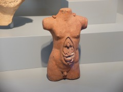 """Torso of a Man"", Etrusque, 300-200 av. J.-C."