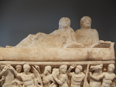 """Sarcophagues with the Life of Achilles"", Romain, fait à Athènes, 180-200 ap. J.-C."