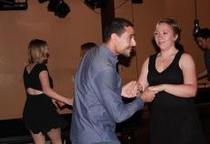 Guillaume et Alex, débutants enthousiastes contaminés (je l'espère) aux danses latines.