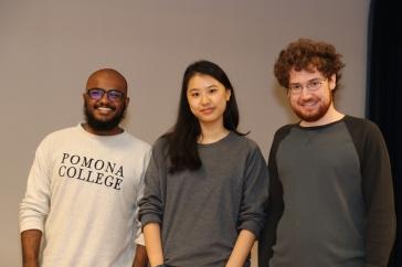 Barath, Ariane, Will, Borg Spirit award