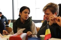 Avec Max, déjeuner émouvant puisque nous avons passé tant de temps à Oldenborg et que nous partons tous les deux à la fin du semestre.