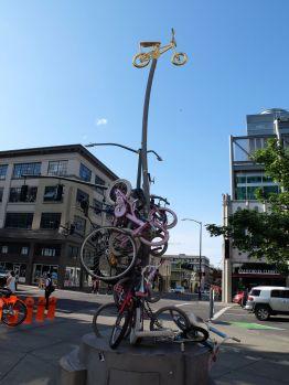 Autre point non négligeable, Portland a l'air d'être vraiment très agréable pour les cyclistes ! C'est suffisamment rare pour le noter.