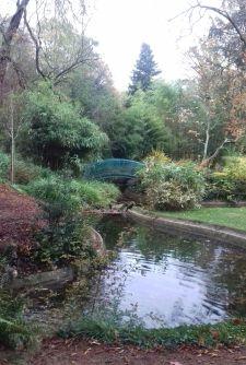 Au parc du Thabor à Rennes.