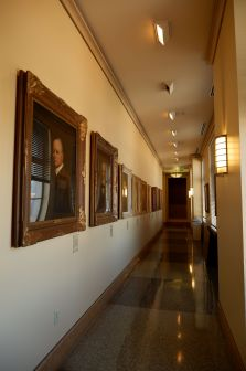Grande galerie de portraits.