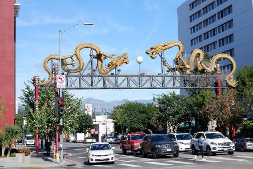 A l'entrée de Chinatown (2)