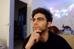 Waël avec mes lunettes